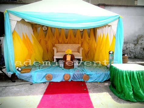 Wedding Decorations Nigeria by Ademi Wedding Decoration For 70k Ember Promo Events