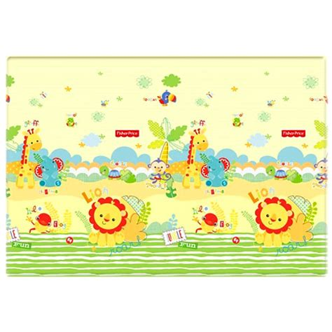 Fisher Price Jungle Mat by Fisher Price Play Mat Jungle