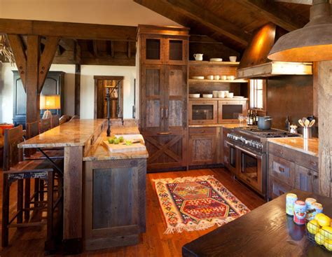 Modern Log Home Interiors by Rustic Kitchens Design Ideas Tips Amp Inspiration
