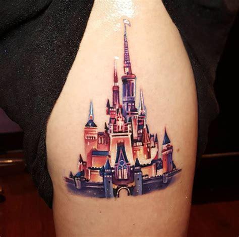 castle of disney world line drawing tattoo inspiration 33 exquisite disney castle tattoo designs disney castle