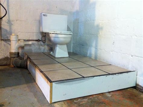 raised floor systems for basements a basement bathroom renovation merrypad