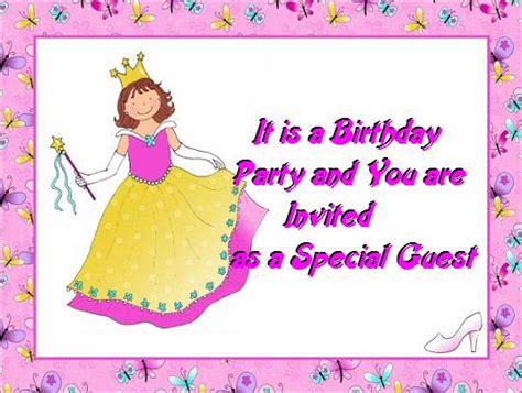 Gift Card Ideas For Kids - birthday invitation cards for kids party invitations ideas
