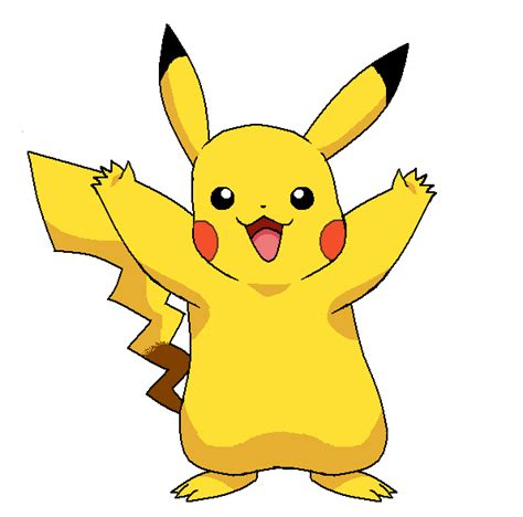 pikachu template by timmy gost on deviantart