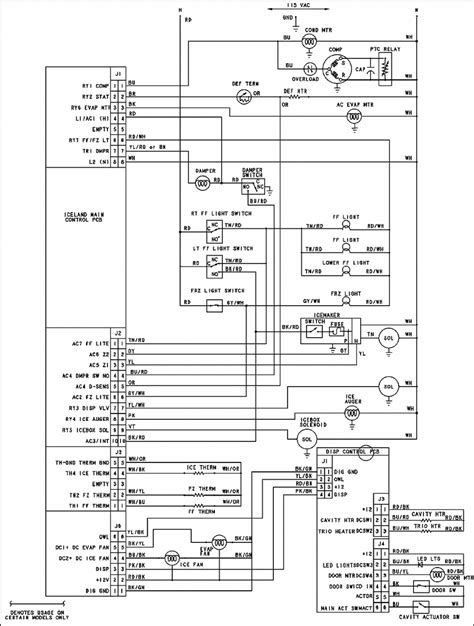 kitchenaid refrigerator wiring schematic wiring diagrams