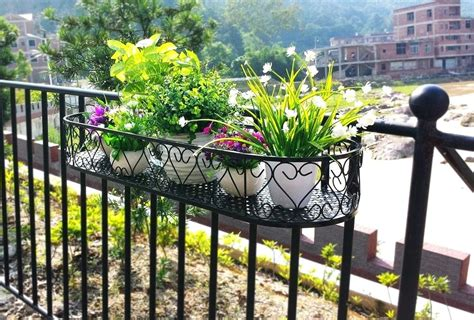 Flower Pots Balcony Railings Photo Balcony Ideas | flower pots balcony railings ideas balcony ideas