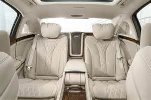 2016 mercedes maybach s600 rear interior seats 03 photo