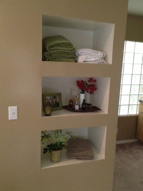 built in wall shelf built in shelves pinterest
