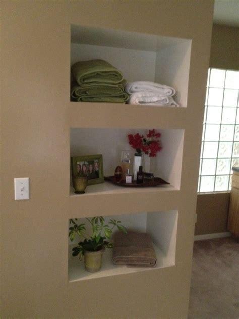 built in wall shelf built in shelves