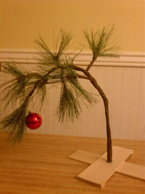 real charlie brown christmas tree brown s tree 4 steps with pictures
