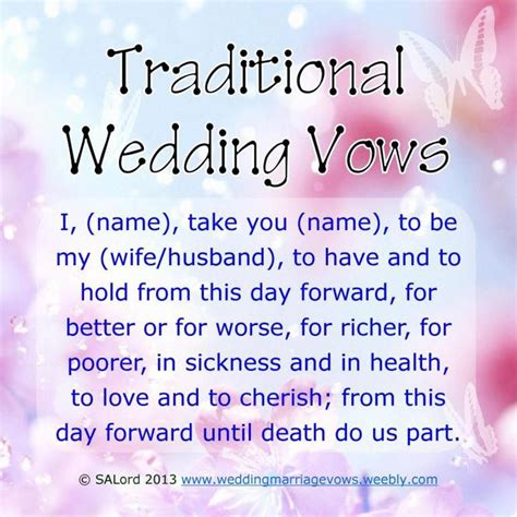 Wedding Vows Modern by Traditional Wedding Vows Search Engine At Search
