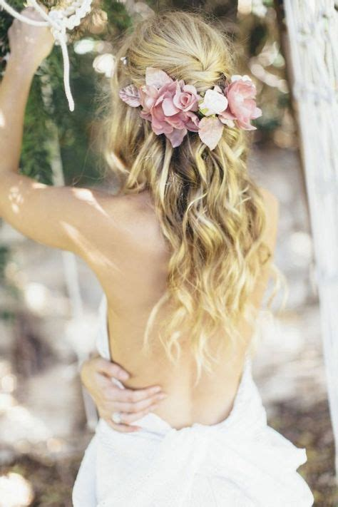 party hairstyles for relaxed hair 36 best boho bride inspiration images on pinterest