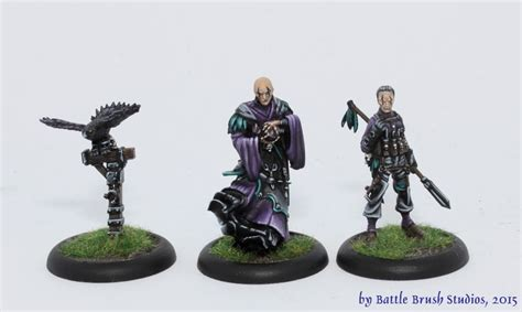 the miniature painting guild commission guild ball teams morticians butchers