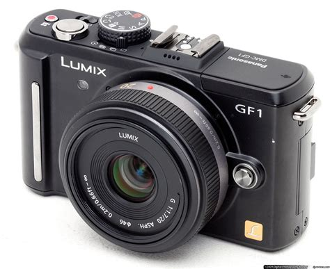 panasonic lumix panasonic lumix gf1 review digital photography review