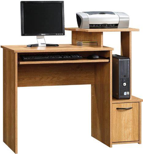 beginnings computer desk 408726 sauder sauder beginnings oak