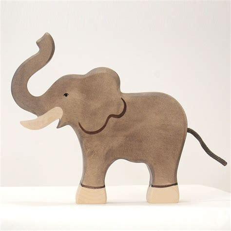 Handmade Elephant - big elephant holztiger handmade wooden toys for children