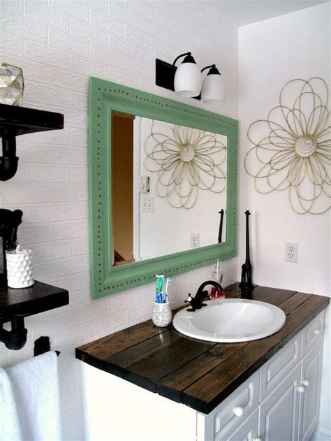 bathroom vanity top ideas 7 chic diy bathroom vanity ideas for her diy projects