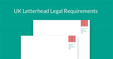 letterhead charity number uk letterhead requirements a guide to help