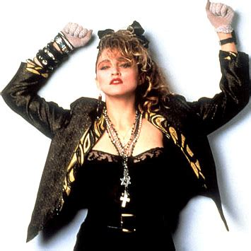 the madonna look in the 80s strike a pose like totally 80s