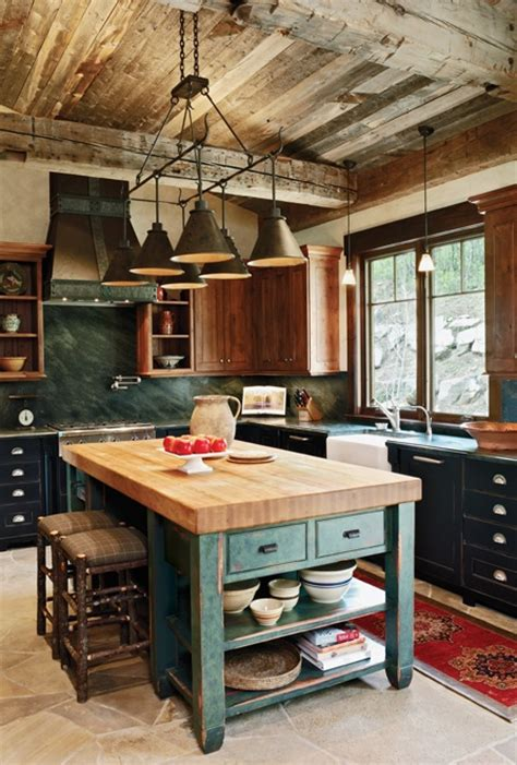 rustic kitchen design inspiration dailymilk