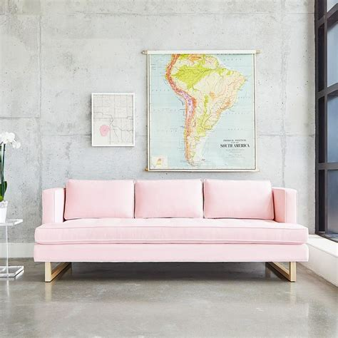 pink sofa furniture best 25 pink sofa ideas on pinterest pink sofa