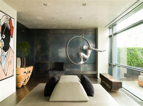 12 rooms that showcase sculpture design milk