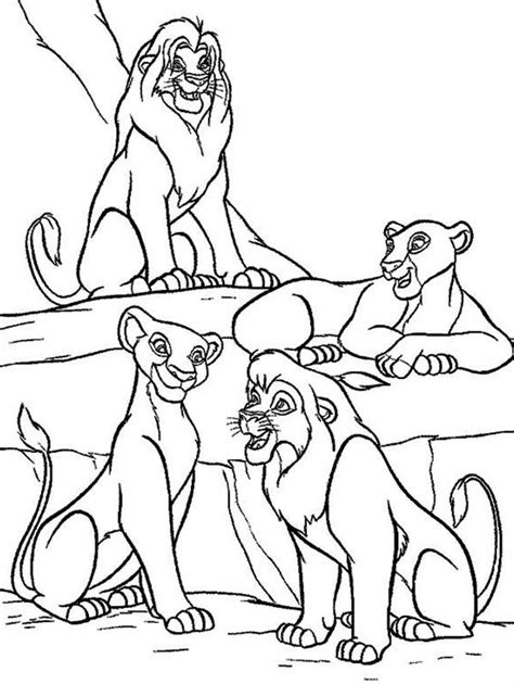 lion king nala coloring pages printable the lion king coloring pages