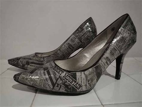 Decoupage Shoes With Paper - 27 best vestiti images on feminine fashion