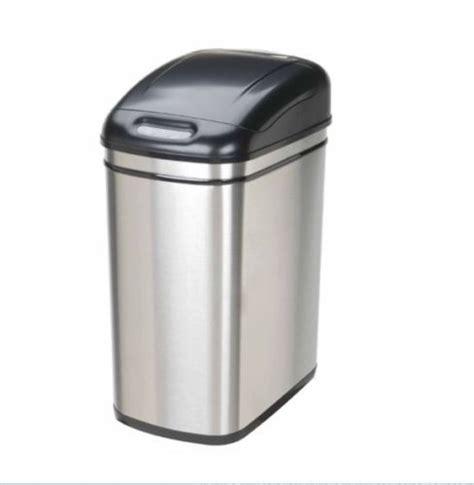 touchless kitchen trash can kitchen garbage can garage storage bin touchless stainless steel tras