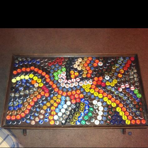 bottle cap coffee table 17 best images about mosaic on mosaic tiles tile tables and cap d agde