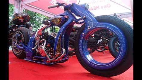 Modifikasi Motor Custom by 74 Gambar Modifikasi Motor Chopper Terbaik Kakashi