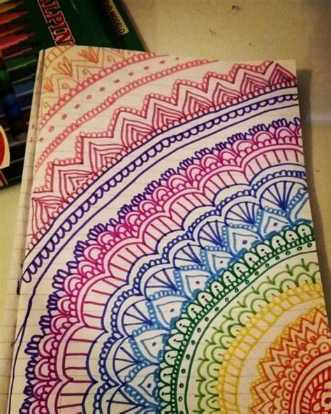 easy colorful drawings easy zentangle patterns color c艫utare