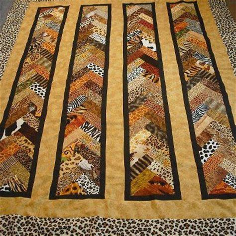 animal print braid quilts