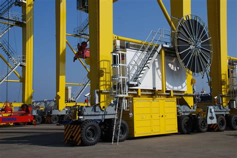 rubber sts australia news of our project to electrify rtg cranes at jebel ali