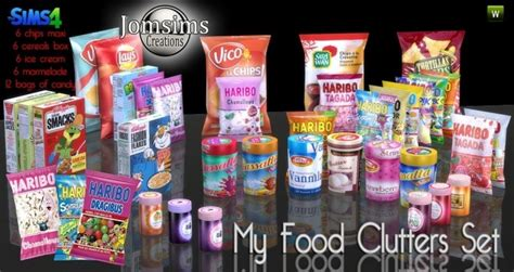 sims 4 food cc food clutter at jomsims creations 187 sims 4 updates
