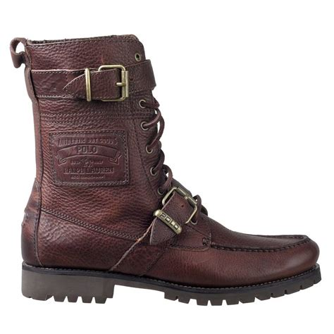 polo mens boots polo ralph mens ranger hiking boots radbourne mahogany