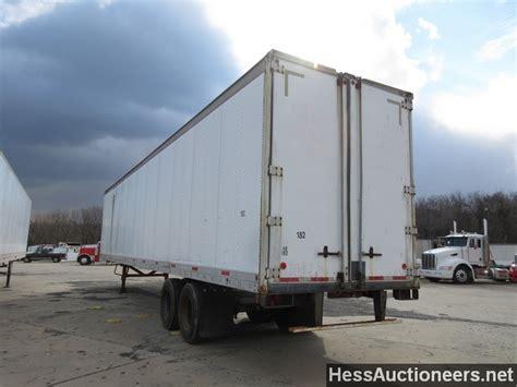 american swing trailer used 1984 fruehauf dry van trailer van trailer for sale in
