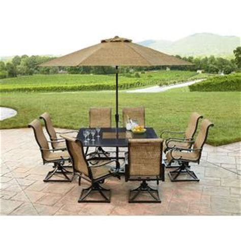 Grand Resort Patio Furniture Grand Resort Sunset Place 9pc Dining Set Limited Availability Outdoor Living Patio
