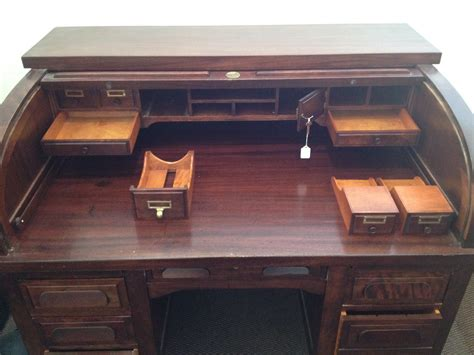 antique roll top desk for sale 1940 s standard mahogany roll top desk for sale antiques