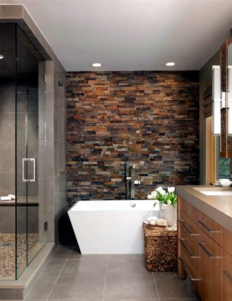 upholstery course bath 20 design ideas for bathroom with stone tiles by