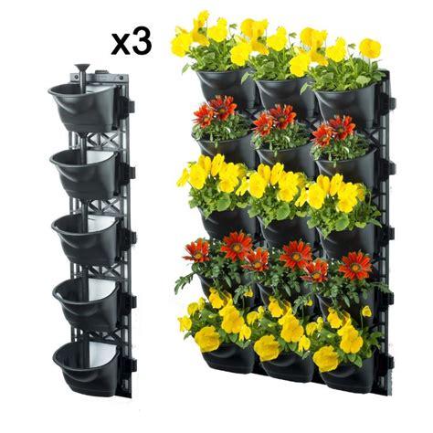 Vertical Garden Kits Vertical Garden Kit With 15 Pots And Mats Buy Pots