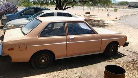 doors for sale az 1981 datsun b210 2 door coupe for sale in marana arizona