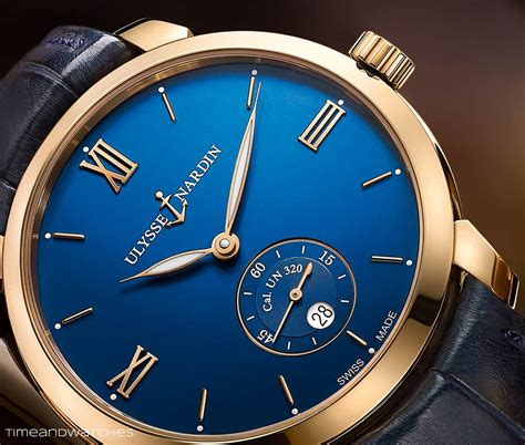 Ulysse Nardi ulysse nardin classico manufacture time and watches