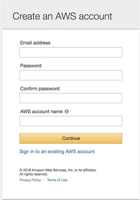 aws console sign in get started with bitnami amis from the aws console
