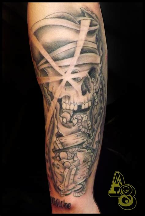 pirate sleeve by chad from aces n eights tattoo yelp
