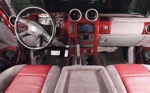 2005 hummer h2 custom interior photo 4