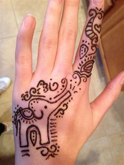 henna tattoo designs on hands simple 45 henna elephant tattoos