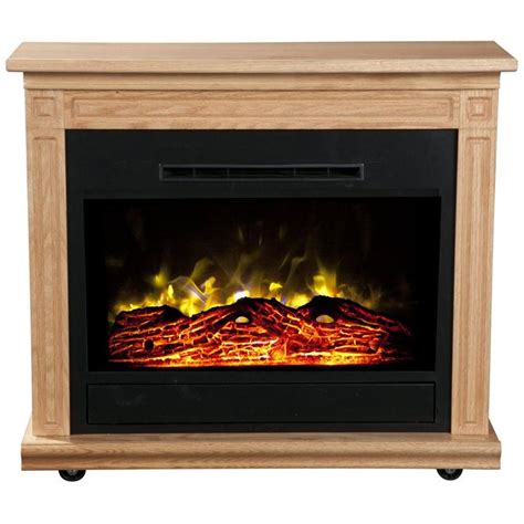 heat surge 30000523 roll n glow electric fireplace