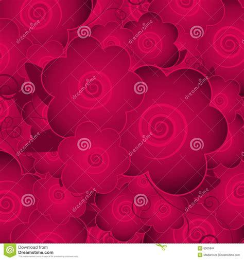 Blakc Reddish Flower S M L 44398 pink flower blossoms background stock illustration