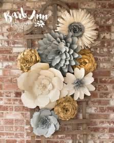 best 25 paper flower wall ideas on