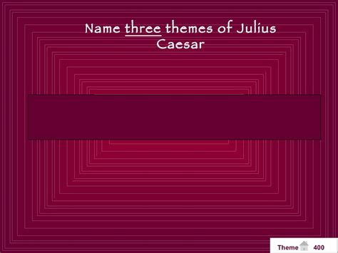 themes of betrayal in julius caesar caesar jeopardy